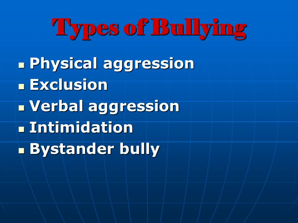 Who is a Bully.A person who: doesnt care if bad things happen to other people.