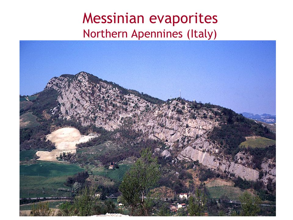 Messinian evaporites Northern Apennines (Italy)
