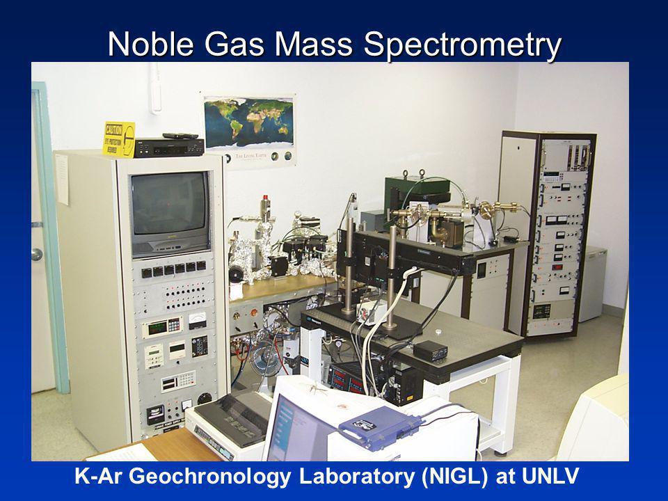 K-Ar Geochronology Laboratory (NIGL) at UNLV Noble Gas Mass Spectrometry