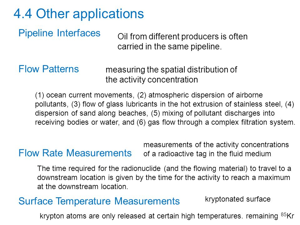 Thickness gauging by radiation transmission Thickness gauging by backscatter transmission 5.