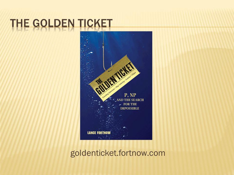 goldenticket.fortnow.com