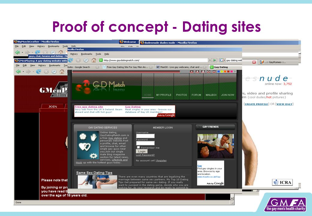 Proof of concept - Dating sites