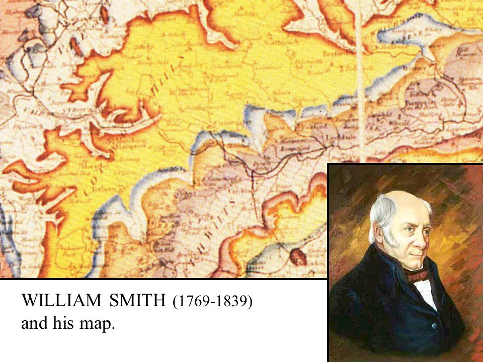 WILLIAM SMITH (1769-1839) and his map.