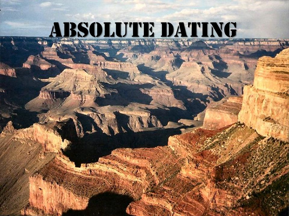 A.D.is used when geologists want to know the actual numerical age of a rock layer.