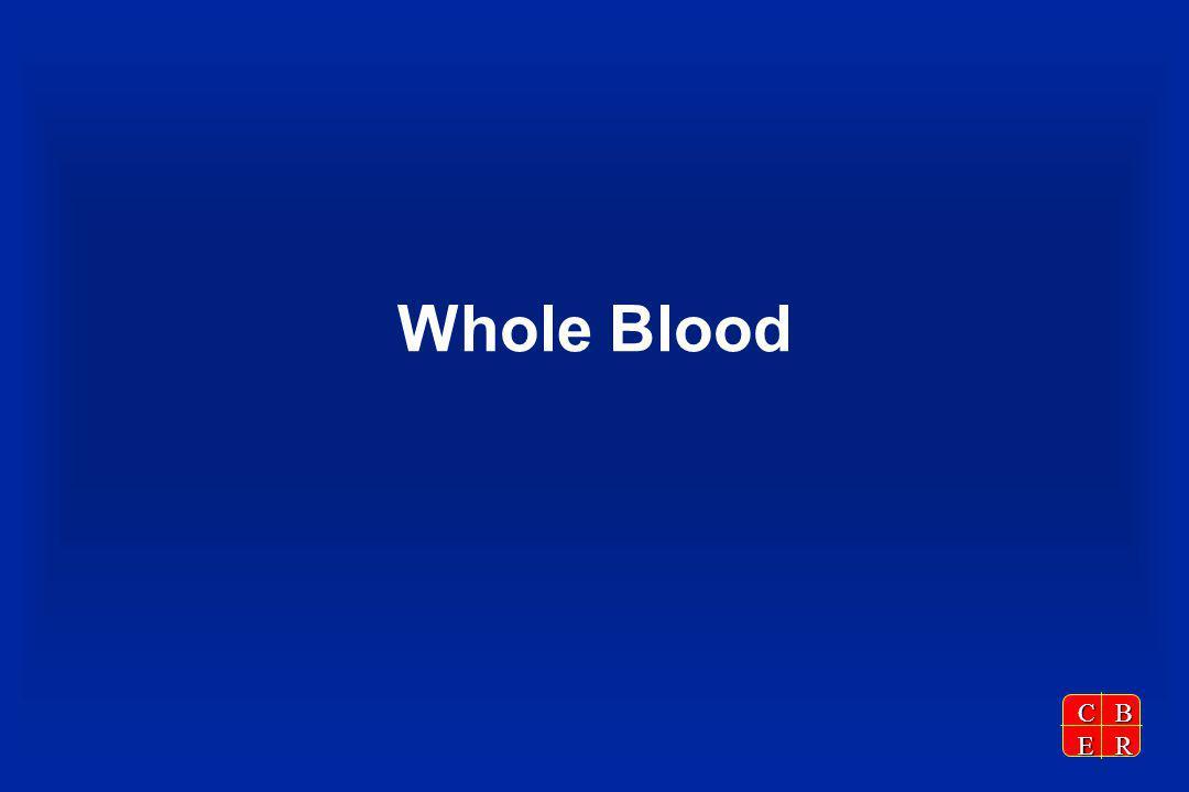 CBER Whole Blood