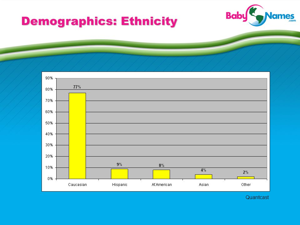 Demographics: Ethnicity Quantcast