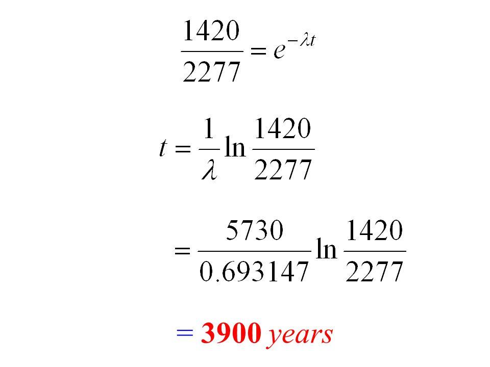 = 3900 years