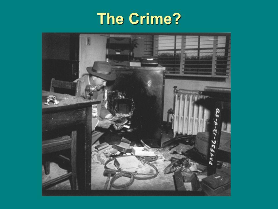 The Crime?