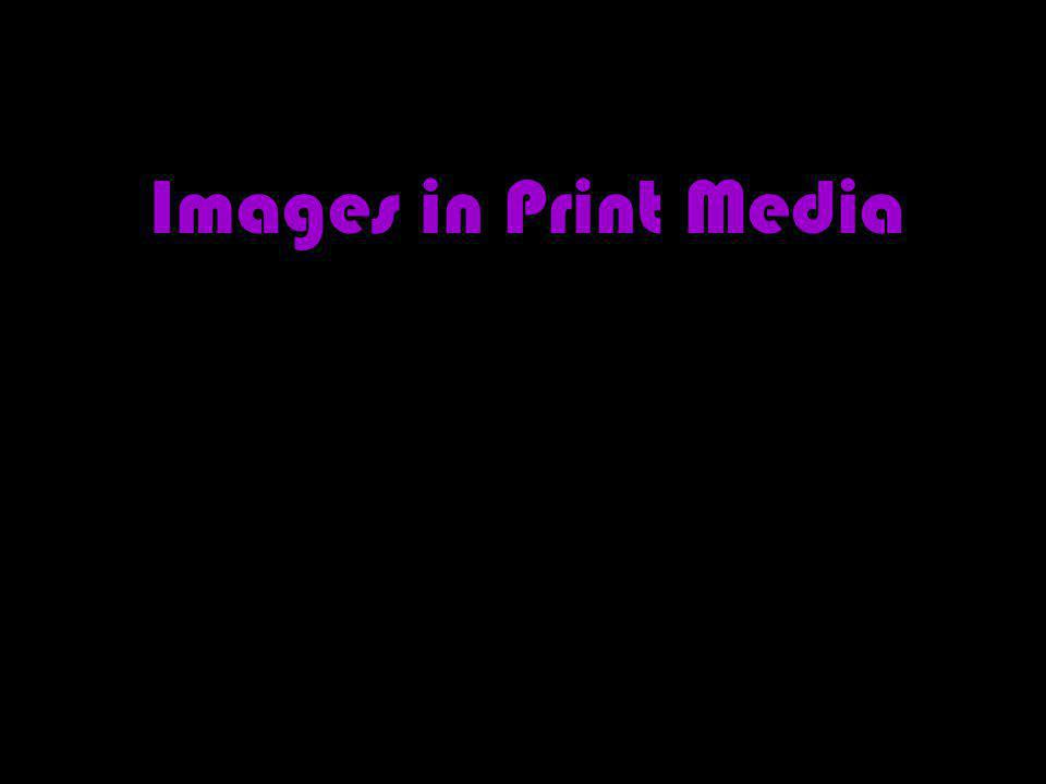 Images in Print Media