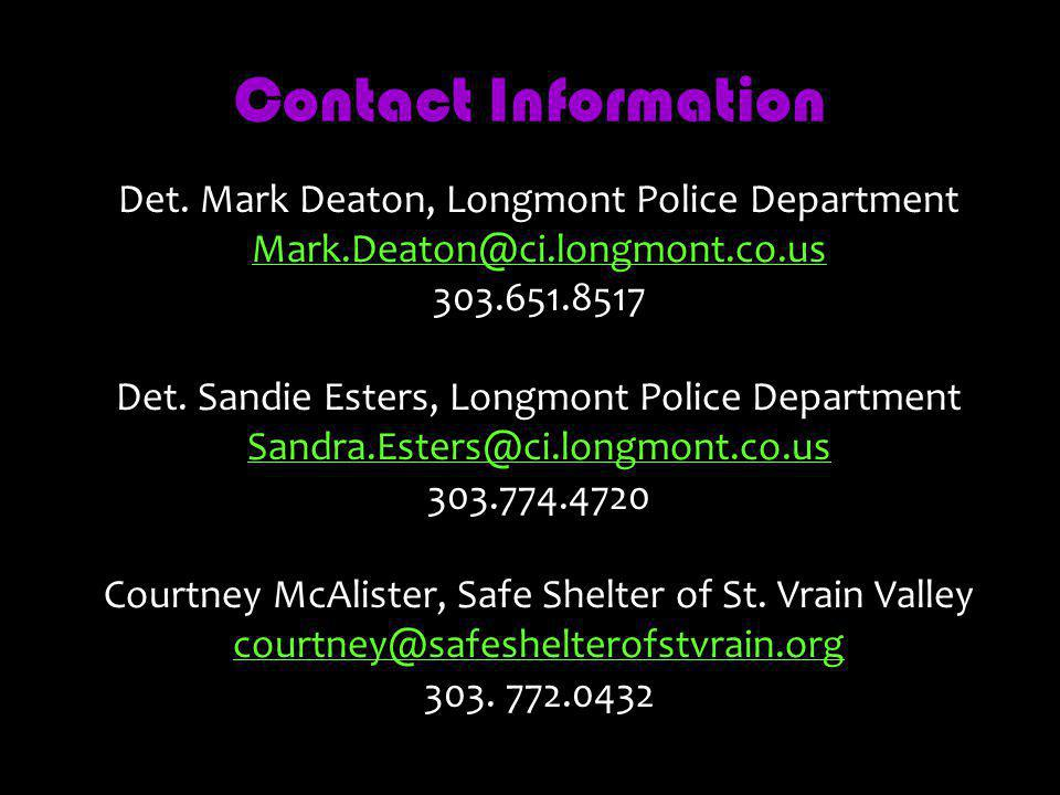 Contact Information Det.