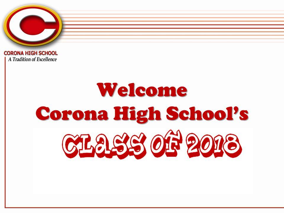 Welcome Corona High Schools