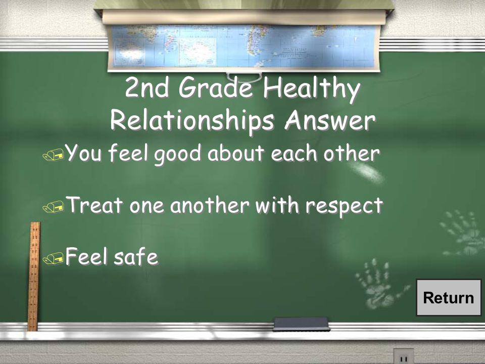 2nd Grade Healthy Relationship / What is a Healthy Relationship look like