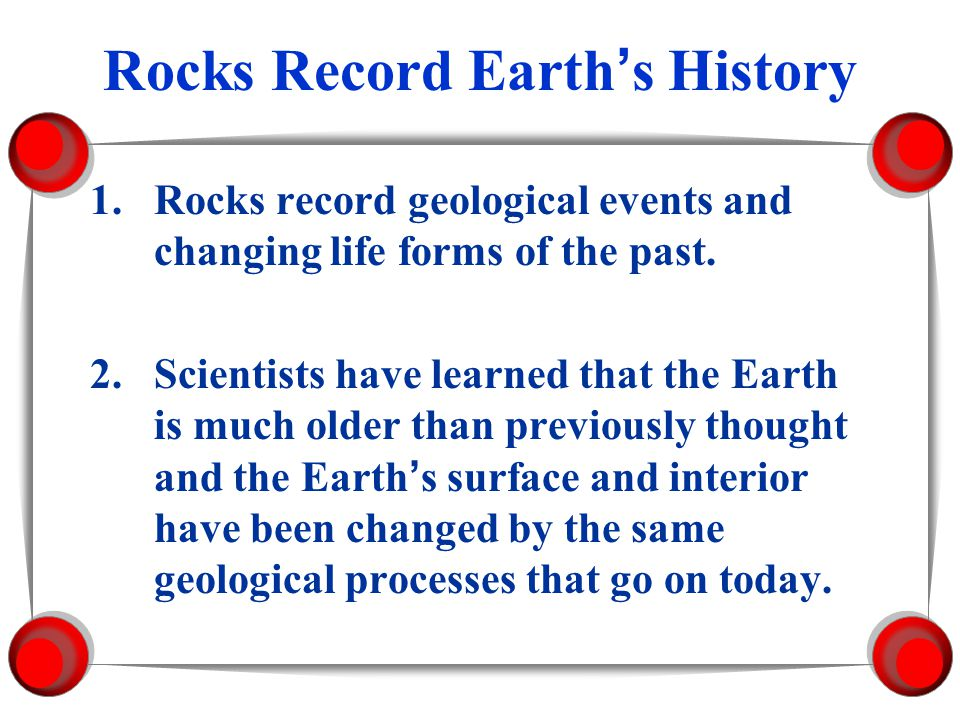 Discovering Earths History