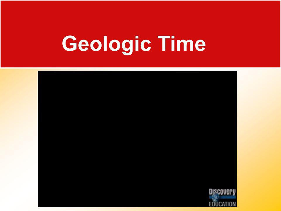 Rocks Record Earth History 17.1 Determining Relative Age Rocks record geological events and changing life forms of the past.