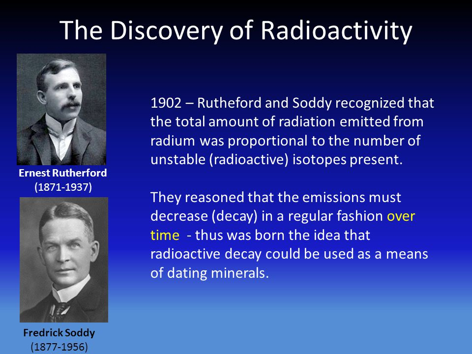 The Discovery of Radioactivity.