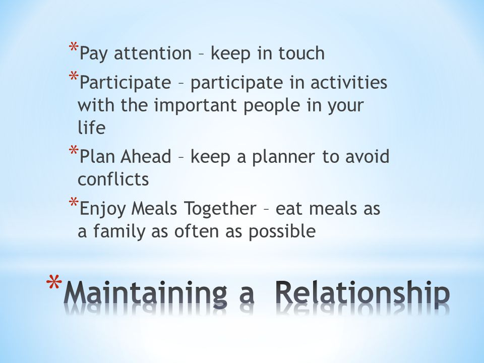 * Dating can be fun, but it has a serious side * You need to establish boundaries, or limits in a new relationship * Plan ahead so you are prepared to handle situations that may arise