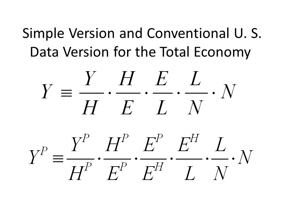 Introducing the AlternativeUnconventional Identity Nalewaiks 2010 Brookings Paper: – –GDP and GDI are conceptually identical – –But they differ (statistical discrepancy) – –GDI is more procyclical – –When GDP is revised, it tends to be revised toward what GDI already shows Hours – –All existing work uses hours based on payroll employment – –There is a little-known series on hours based on the household survey In principle 2 numerators, 2 denominators = 4 possible productivity measures, here we simplify by comparing only two combinations, Conventional and Unconventional