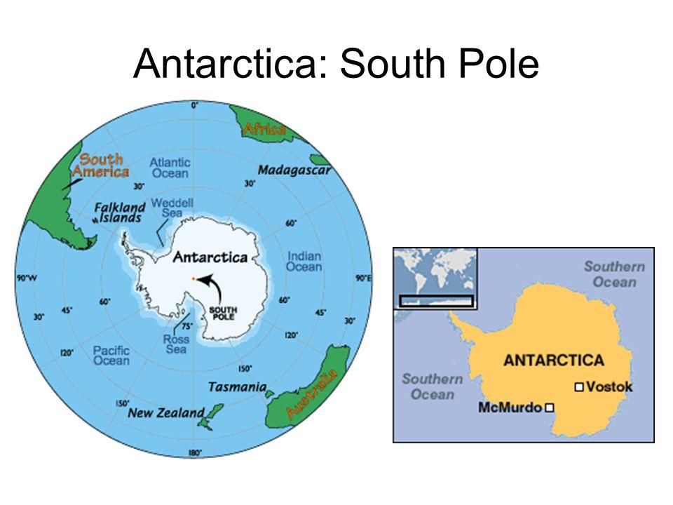 Antarctica: South Pole