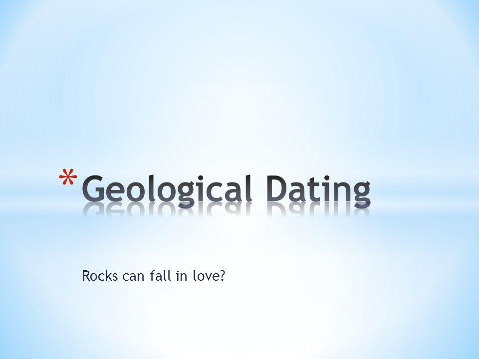 Rocks can fall in love