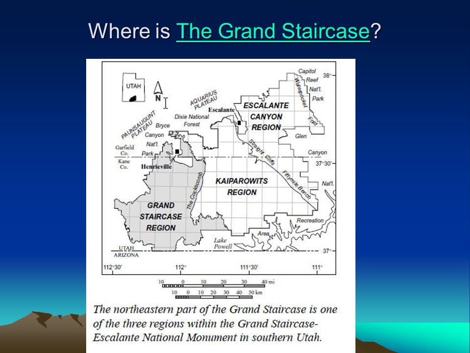 Where is The Grand Staircase? The Grand StaircaseThe Grand Staircase