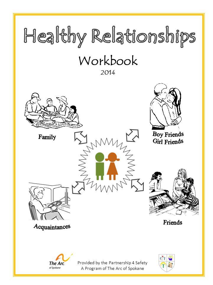 Provided by the Partnership 4 Safety A Program of The Arc of Spokane Workbook 2014