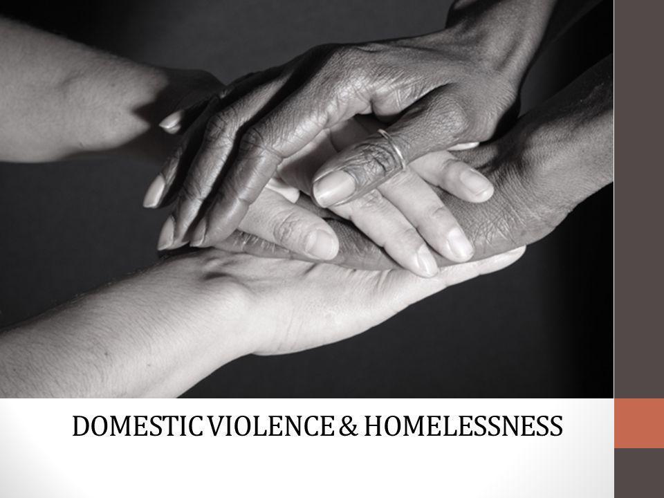 DOMESTIC VIOLENCE & HOMELESSNESS