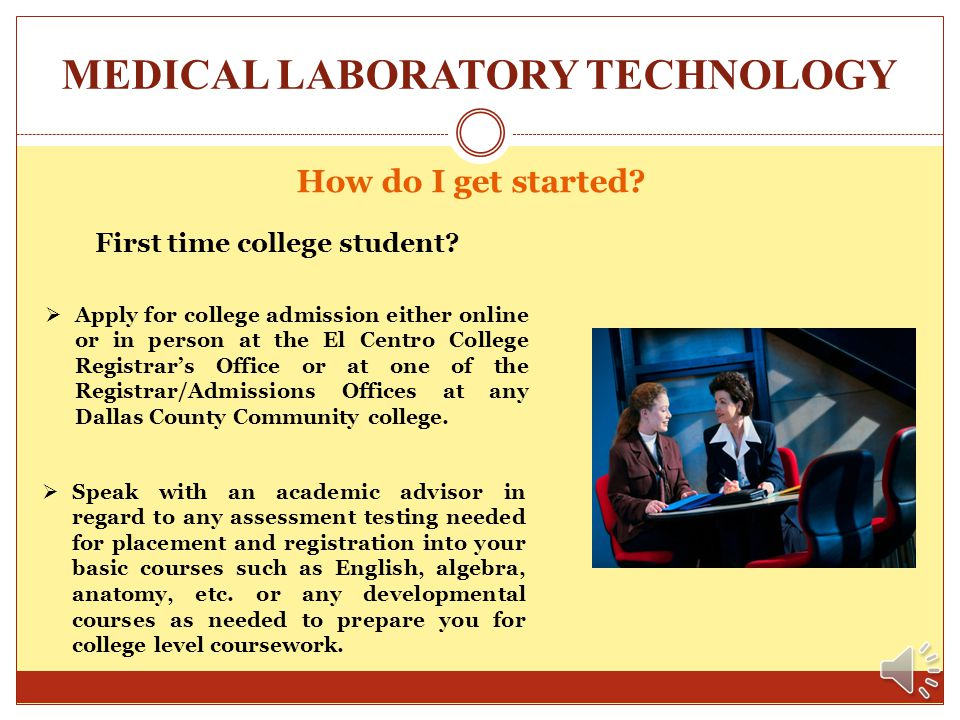 MEDICAL LABORATORY TECHNOLOGY What is the cost of the Medical Lab program?? The cost of the Medical Laboratory Technology program is primarily based u