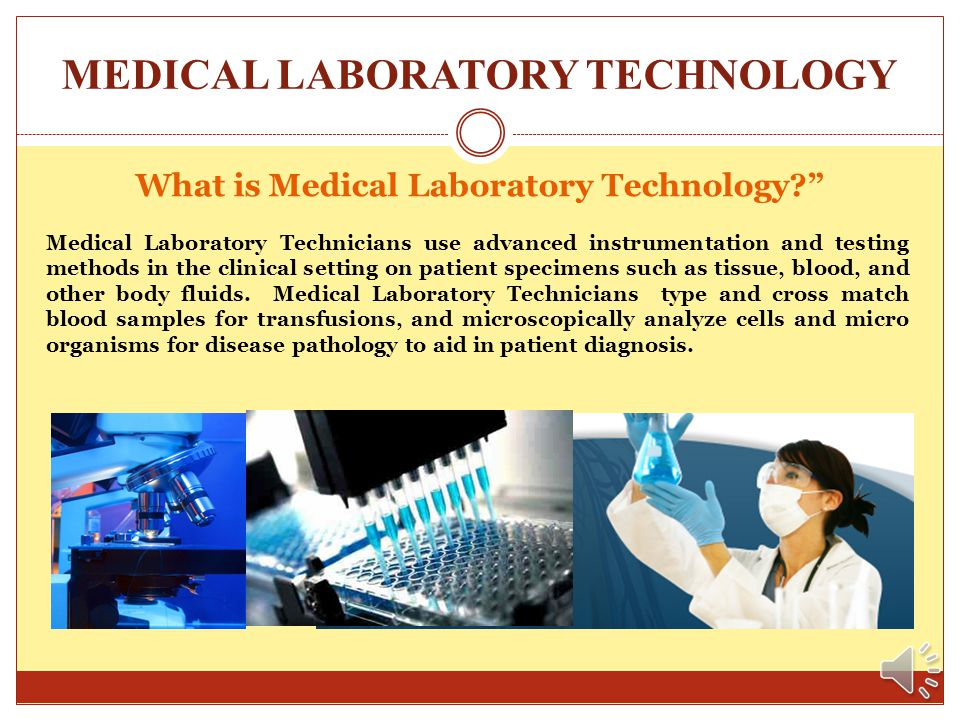 MEDICAL LABORATORY TECHNOLOGY Welcome … ……. to the Medical Laboratory Technology Program at El Centro College. I am Lisa Lock, the coordinator of the