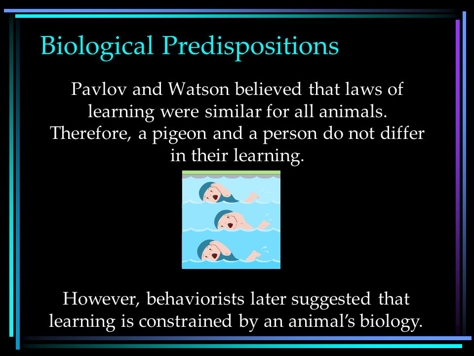 Cognitive Processes Early behaviorists believed that learned behaviors of various animals could be reduced to mindless mechanisms. However, later beha