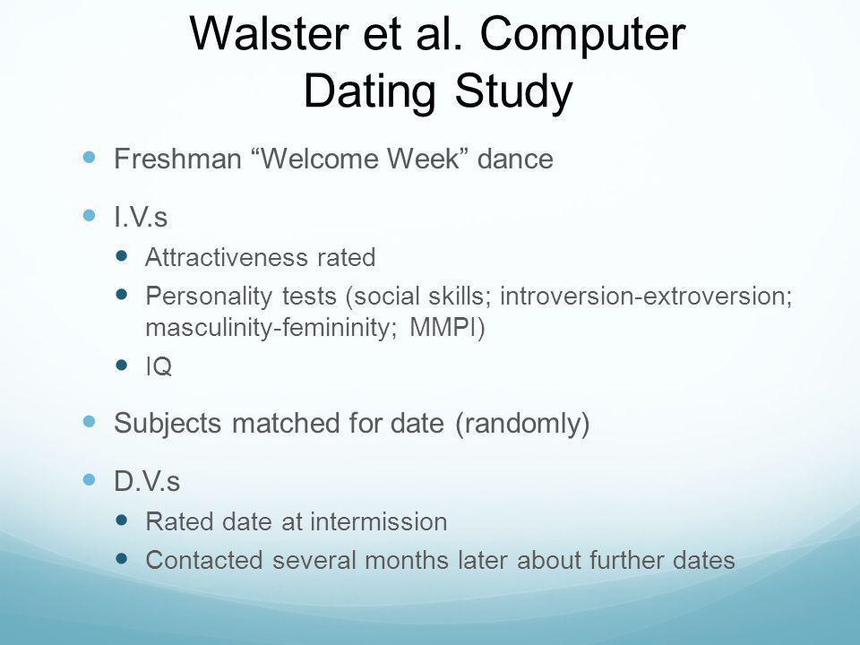 Walster et al.