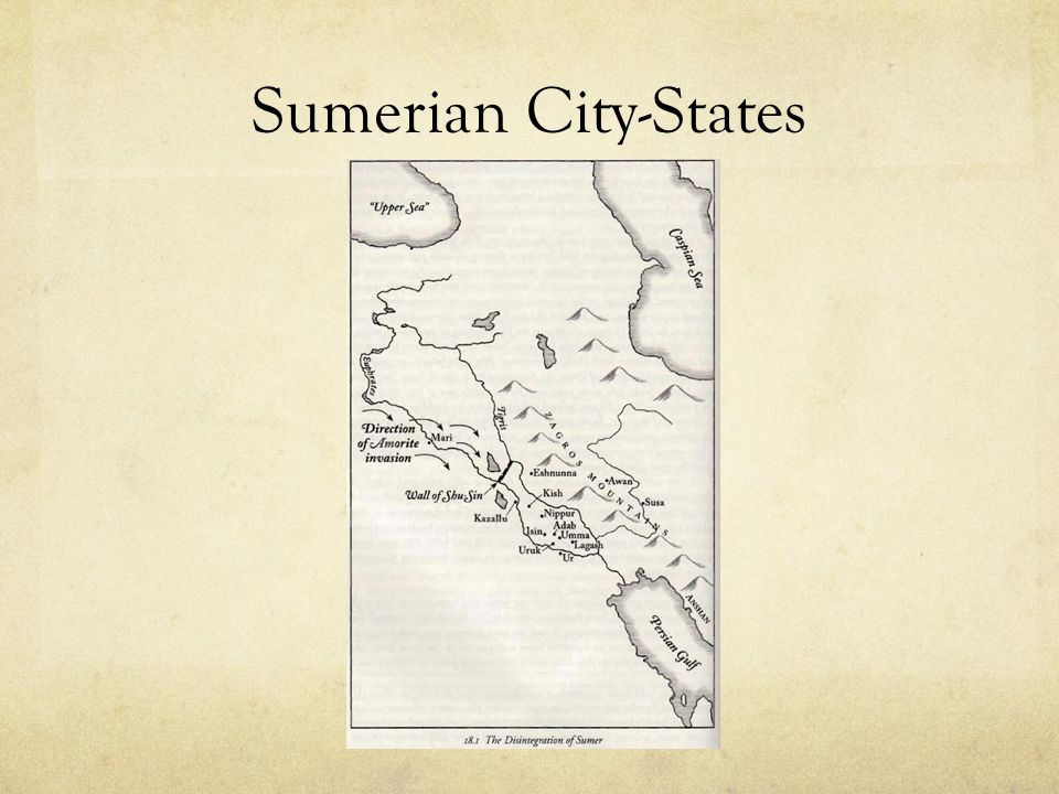 Sumerian City-States