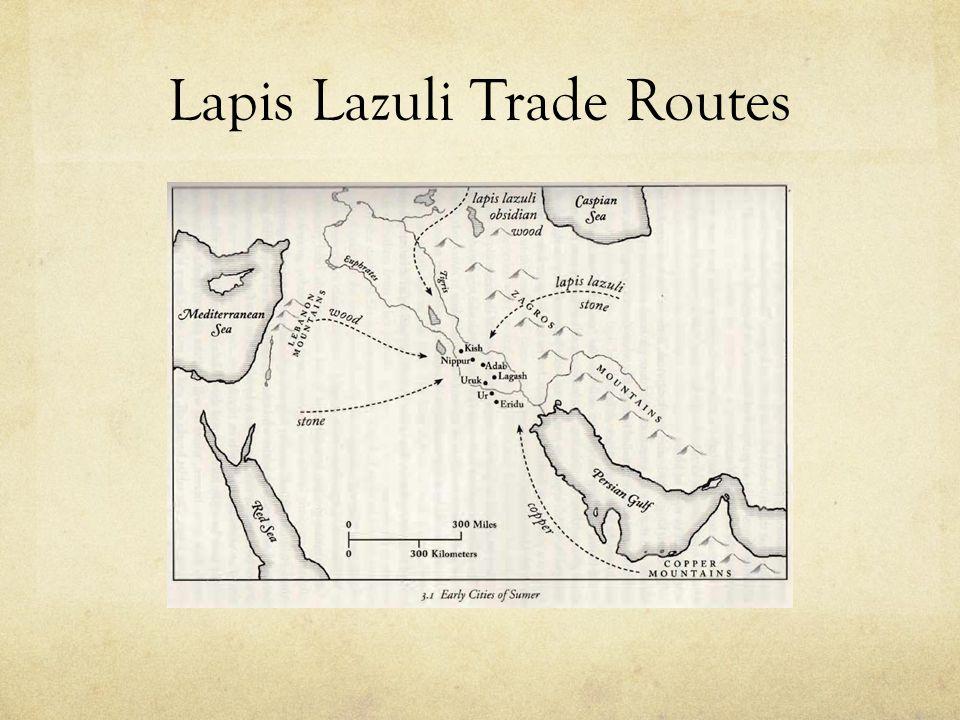 Lapis Lazuli Trade Routes