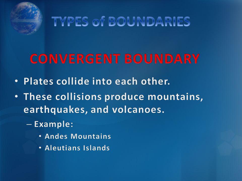 CONVERGENT BOUNDARYCONVERGENT BOUNDARY