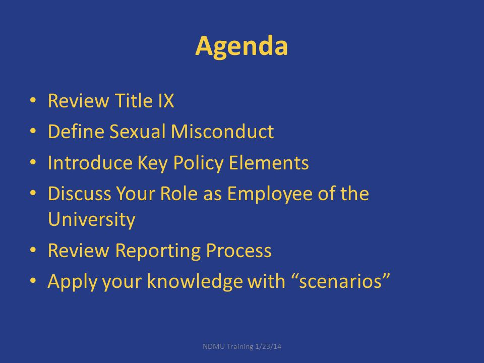 Title IX 20 U.S.C.No person in the United States shall, on the basis of sex...