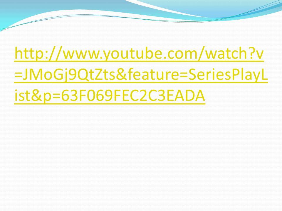 http://www.youtube.com/watch v =JMoGj9QtZts&feature=SeriesPlayL ist&p=63F069FEC2C3EADA