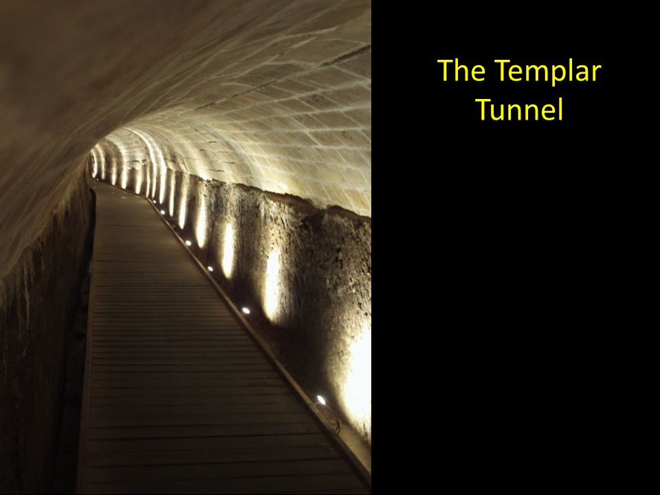 The Templar Tunnel