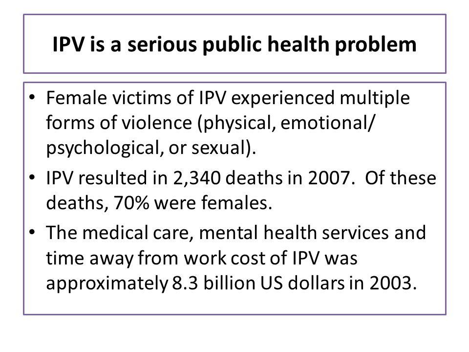 Closing remark Validate womens IPV experience: o thats not o.k.