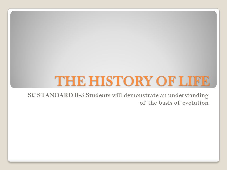 CN: page 54 notebook Topic: The History of Life EQ: What are the 4 important patterns of macroevolution?