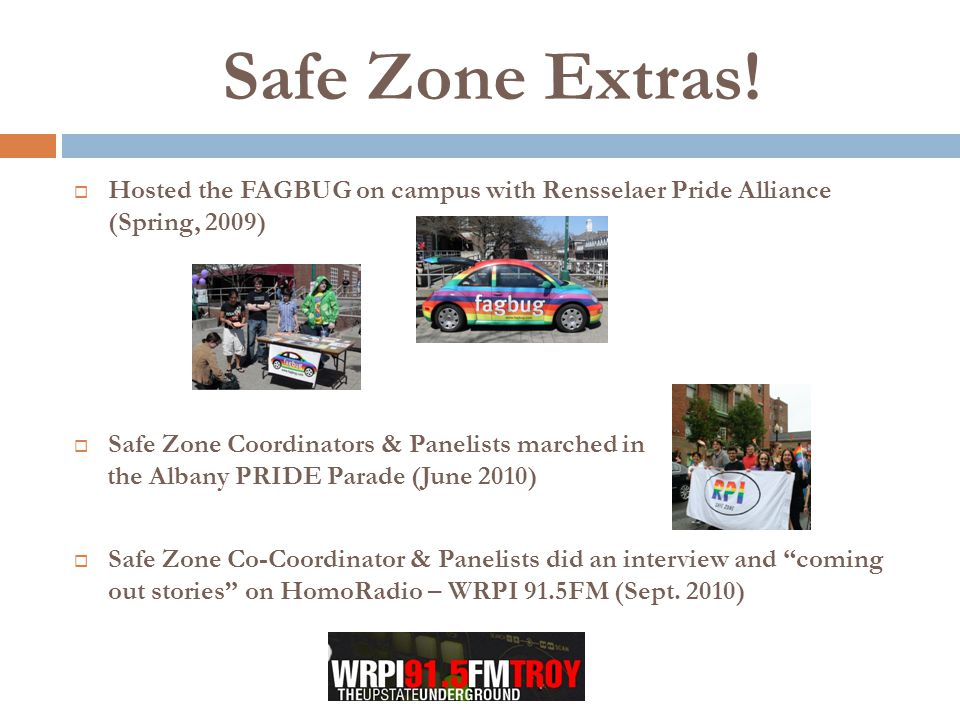 Safe Zone Extras.
