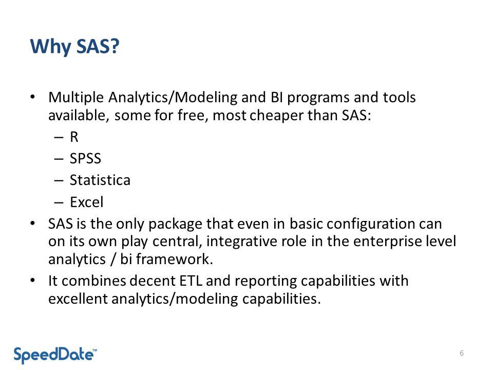 Why SAS.