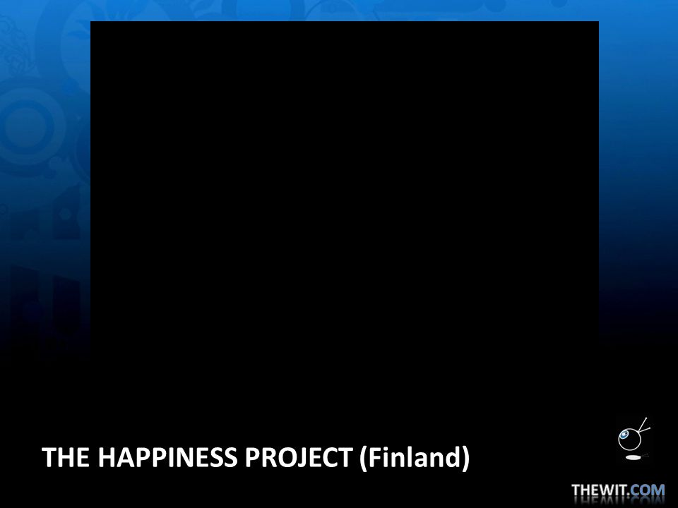 THE HAPPINESS PROJECT (Finland)