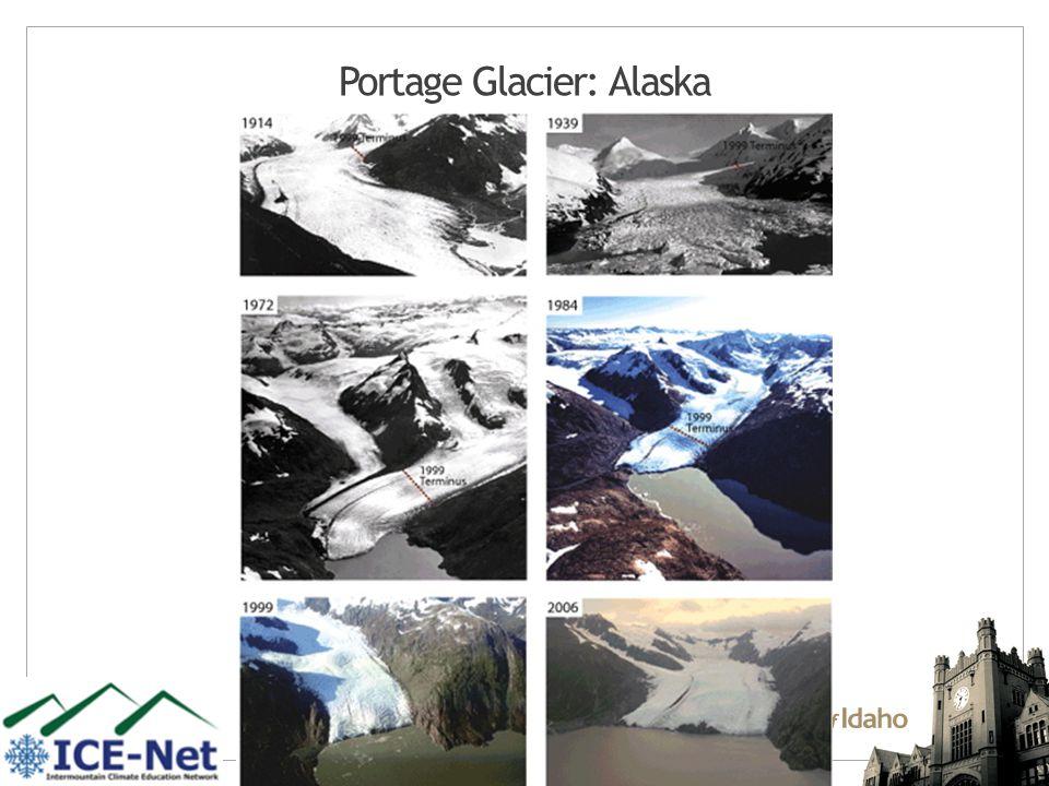 Portage Glacier: Alaska