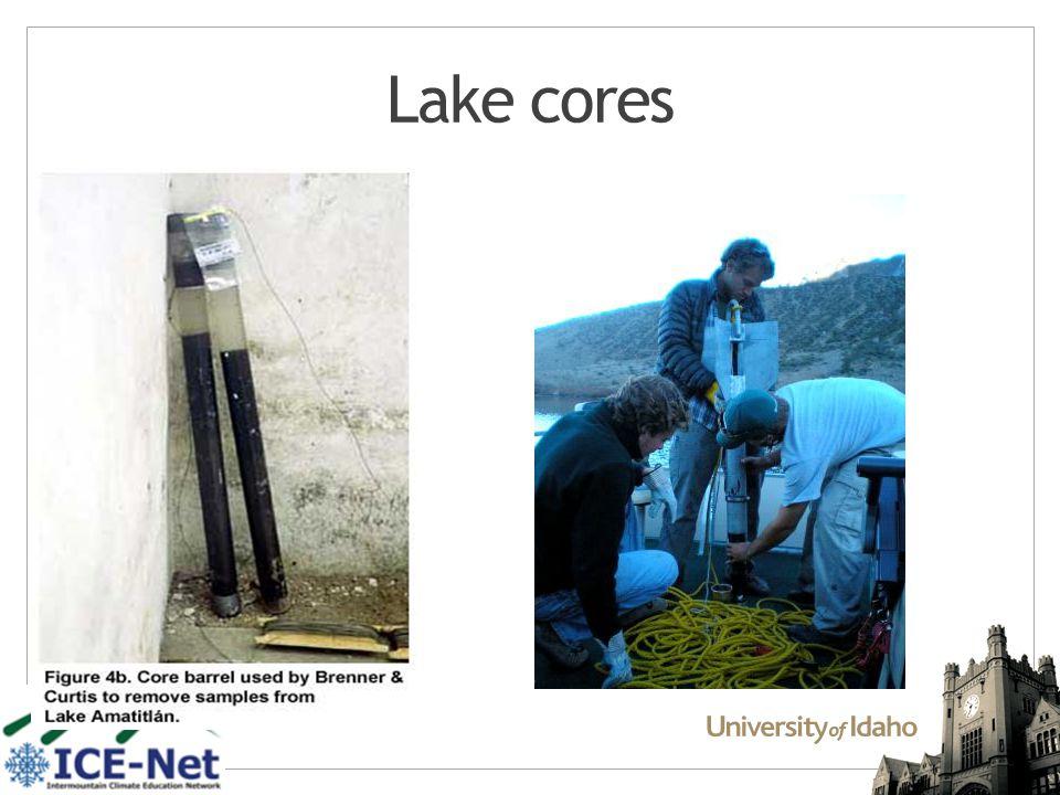 Lake cores