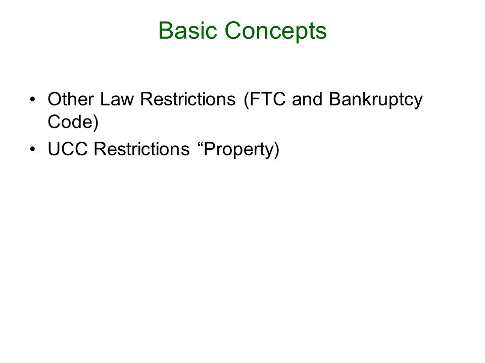 UCC 9-408 (a) [A] term in [certain contracts and licenses] which prohibits, restricts or requires the consent...
