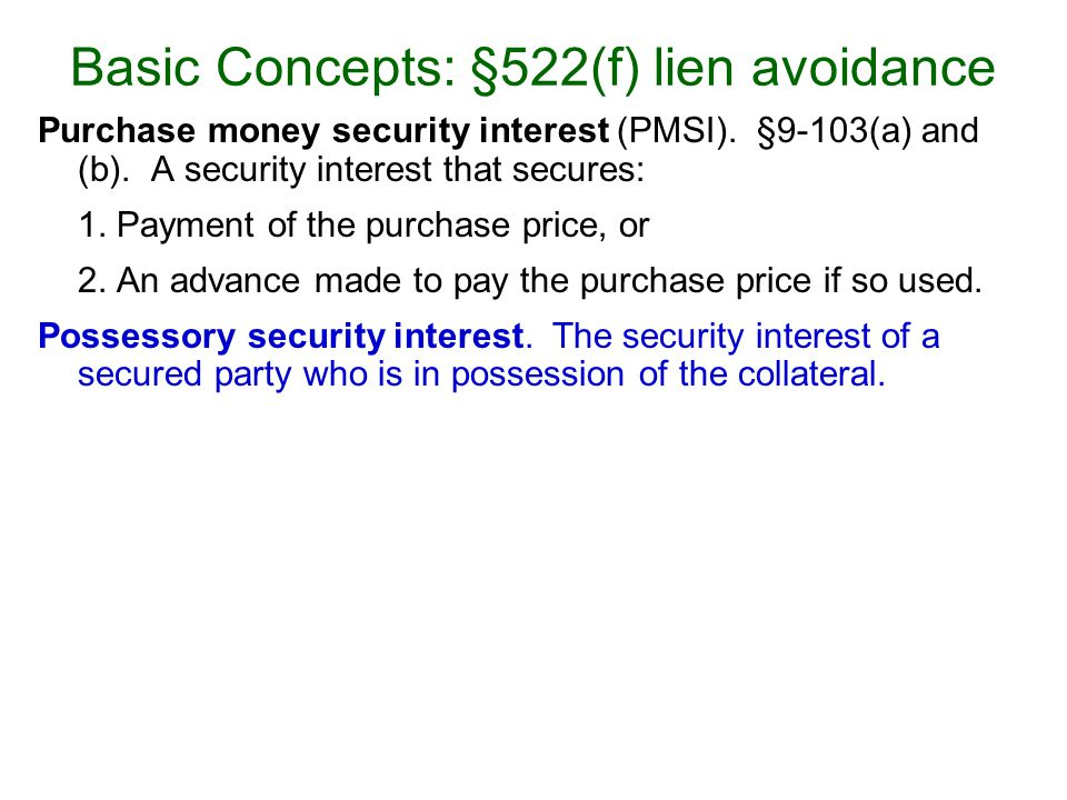 Problem 12.1, page 215 Can Bank get a security interest in this collateral.