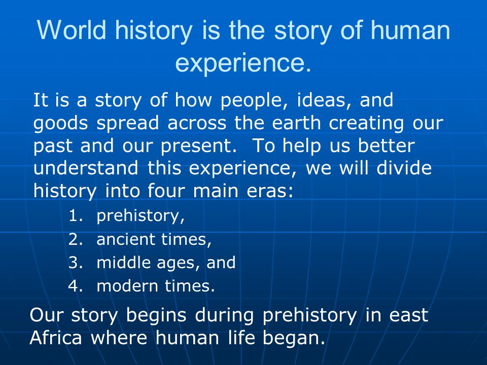 Human Migration From Africa humans spread to Eurasia (Europe and Asia), to Australia, and finally to the Americas.