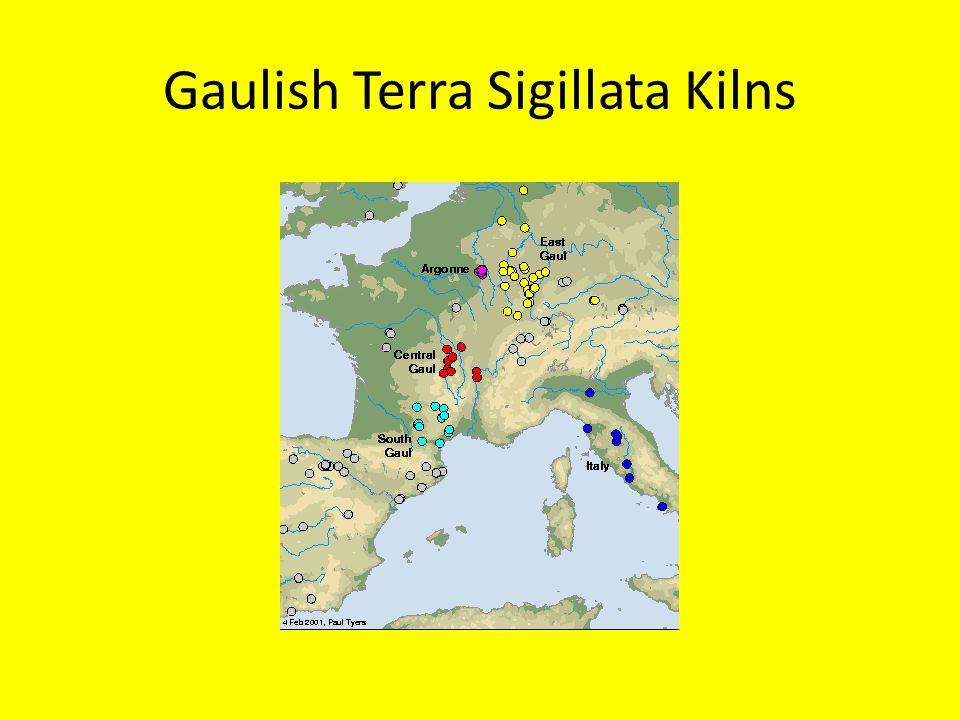 Gaulish Terra Sigillata Kilns