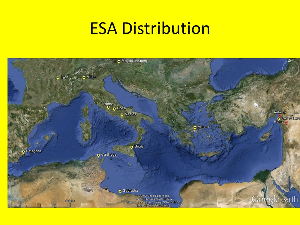 ESA Distribution