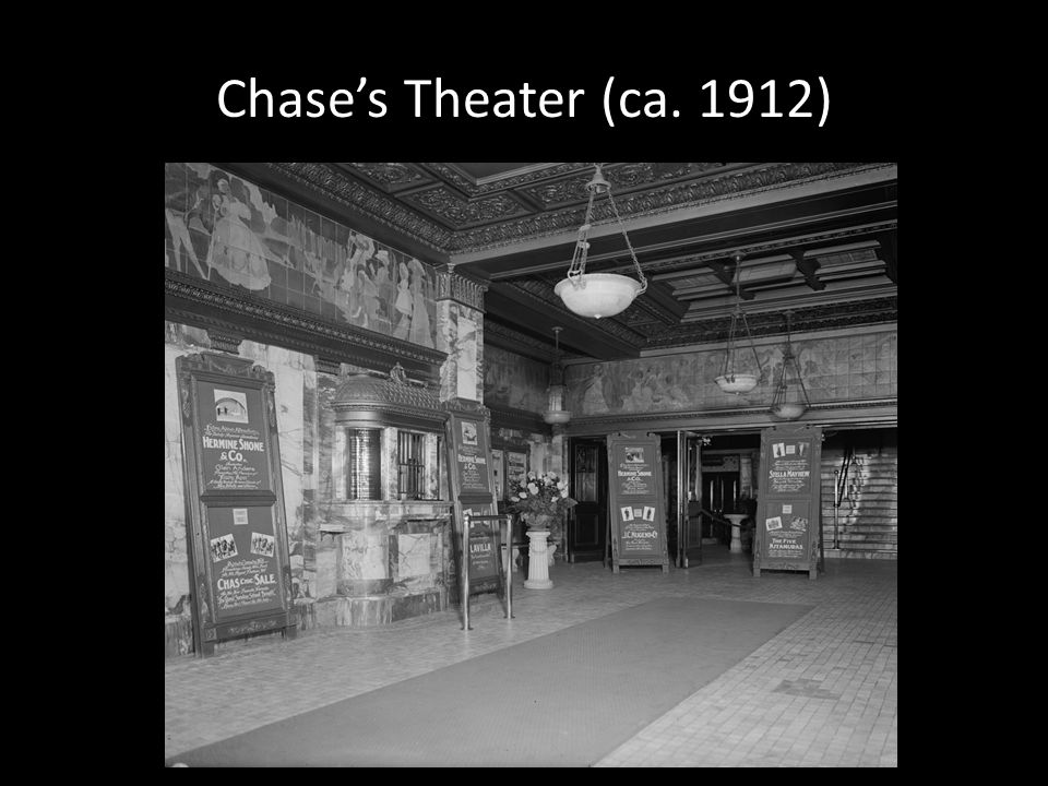 Chases Theater (ca. 1912)
