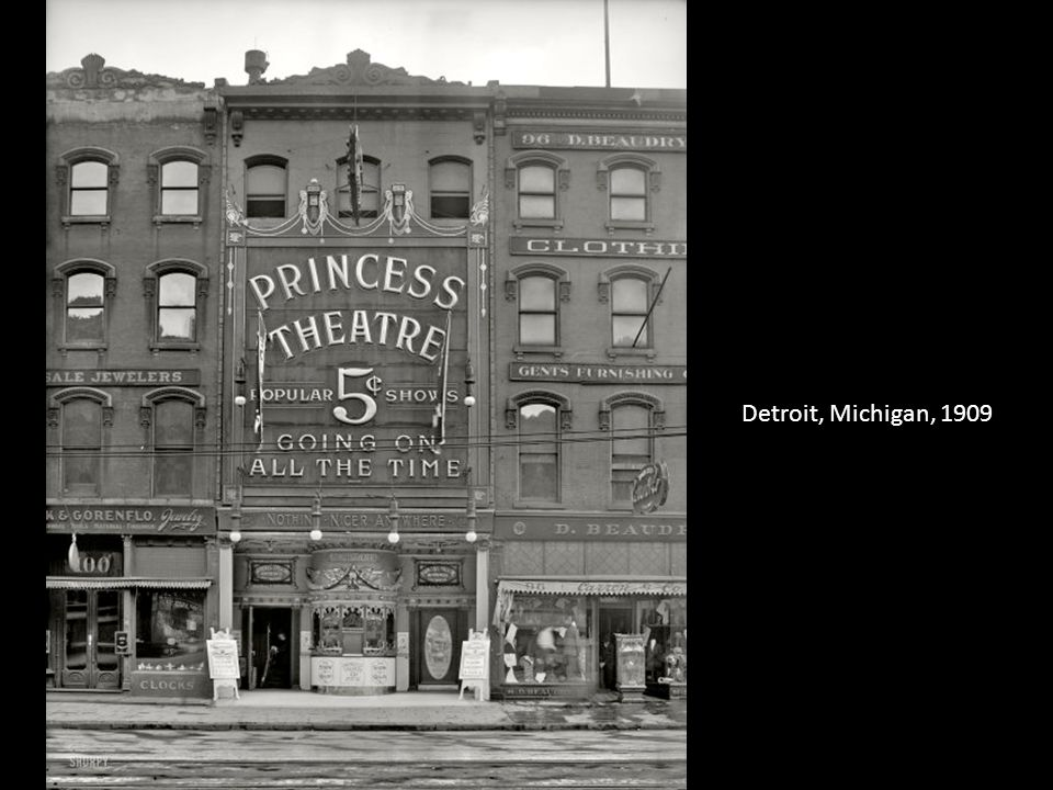 Detroit, Michigan, 1909